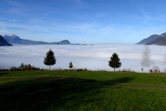 Am Vierwaldstättersee, aufgenommen in Emmetten im Kanton Nidwalden. (Bild: Keystone)
