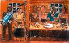 Die Mahlzeit (Bild: Heinrich Danioth)