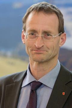 Neu gewählt: René Bünter (SVP). (Bild: Keystone)