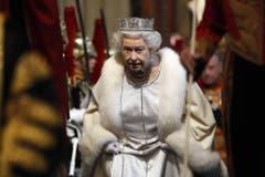 Elisabeth II 2012 im Westminster Palast in London. (Bild: Keystone)