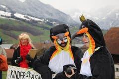 Pinguine in Sachseln. (Bild: Marion Wannemacher)