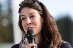 Die Bekanntgabe ihres Rücktritts war eine sehr emotionale Angelegenheit für Dominique Gisin. (Bild: JEAN-CHRISTOPHE BOTT)
