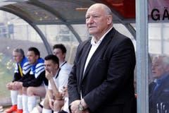 Trainer an der Seitenlinie: Karl Odermatt. (Bild: Werner Schelbert / Neue ZZ)