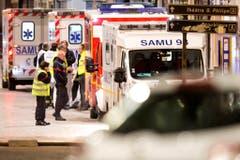 Police operations after Paris attacks (Bild: Keystone)