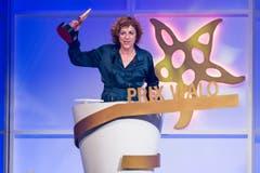 In der Kategorie «Filmproduktion» gewann Sabine Boss den Prix Walo für ihren Film «Der Goalie bin ig». (Bild: KEYSTONE/Ennio Leanza)