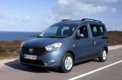 Dacia Dokker: Der 4,36 m kurze Cityvan bietet Platz für 5 Personen und hat dennoch locker Platz für 800 Liter Stauraum. (Bild: PD)