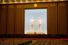 Das Parlament in Pyongyang. (Bild: Martin von den Driesch)