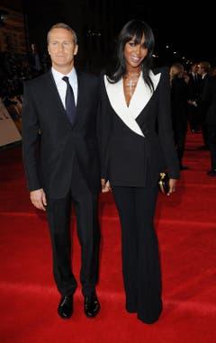 Der russische Unternehmer Vladislav Doronin mit Freundin Naomi Campbell. (Bild: Keystone)
