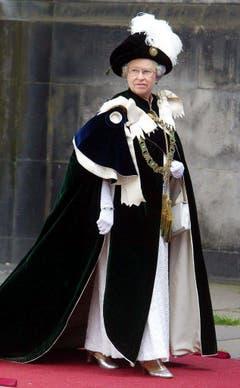 Die Queen bei einem offiziellem Anlass 2007. (Bild: Keystone)