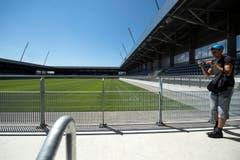 Die Stadien werden rund fünf Jahre später eröffnet als ursprünglich geplant. (Bild: Keystone / Peter Schneider)