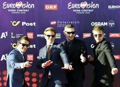 Band 'Anti Social Media', Dänemark. (Bild: Keystone)