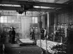 Blick in die Produktionshalle von einst. (Bild: PD)