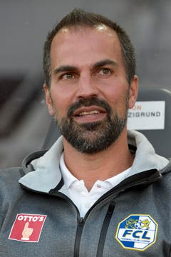 FC Luzern Trainer Markus Babbel. (Bild: Keystone/Anthony Anex)