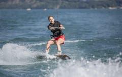 Viele zeigten ihr Können vorallem auf dem Wakeboard. (Bild: André A. Niederberger / Neue NZ)