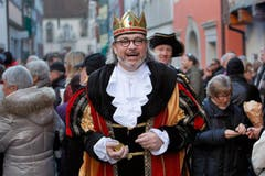 König Royaldun aus dem Märchenlan. (Bild: Christof Borner-Keller / Neue ZZ)