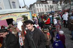 Die Schwyzer Bogä-Bar steht auch schon bereit. (Bild: Bote der Urschweiz)