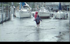 Videostandbilder vom Hochwasser am Bodensee 19.Juni 2016 (Bild: Michel Canonica (Michel Canonica))
