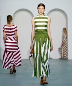 Streifen in allen Variationen prägen das aktuelle Modebild. (Bild: Jasper Conran)