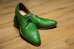 Herren-Schnürschuh von Bugatti, gesehen bei Vögele Shoes. (Bild: Mareycke Frehner)