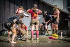 Jahresrückblick St. Gallen 2016: Rugby: Bishops-Cup im Gründenmoos St. Gallen (Bild: Urs Bucher (Urs Bucher))