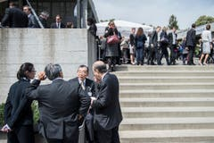 Entscheidungsträger und Studierende aus aller Welt sind an diesen beiden Tagen in St.Gallen. (Bild: Urs Bucher)