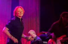 Simpley Red wurde 1984 gegründet - am Freitagabend standen sie in Arbon auf der Bühne. (Bild: Reto Martin)