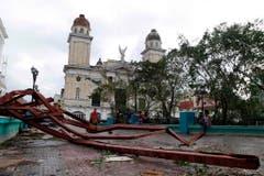 Santiago de Cuba nach dem Wirbelsturm. (Bild: Keystone)