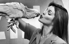 """Immer wieder versucht sich Priscilla Presley als Schauspielerin in TV-Serien und Filmen, hier bei """"Those Amazing Animals"""" im Jahr 1981. (Bild: Keystone)"""