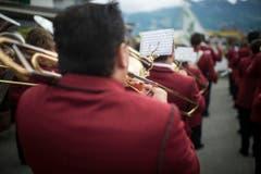 Auftritt der Musikgesellschaft Niederbüren. (Bild: Benjamin Manser)