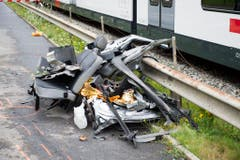 LEVELCROSSING ACCIDENT (Bild: Keystone)