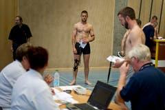 Die Herrenwettkämpfe finden in drei Gewichtsklassen statt: 580, 640 und 700 Kilogramm. (Bild: Michel Canonica)