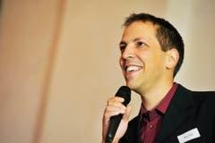 Mario Testa, TZ-Redaktor und Moderator des Abends. (Bild: Donato Caspari)