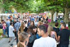 Kreuzlingen TG , 13.08.2016 / Seenachtsfest Kreuzlingen Fantastical 2016 . (Bild: Donato Caspari)