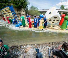 Flossrennen 2015 (Bild: Reto Martin)