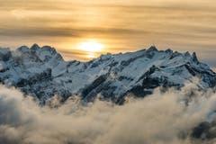 Der Alpstein, vom Eggli aus gesehen. (Bild: Cyrill Schlauri)