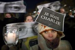 """""""Je suis Charlie"""" ist derzeit weltweit ein Thema. (Bild: Keystone)"""