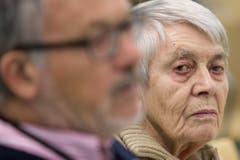 Ruth Roduner betonte, ihr Vater habe trotz der Konsequenzen seines Handelns für ihn und die Familie nie etwas bereut. (Bild: Keystone)