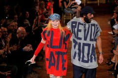 An der Fashionweek in Paris im September 2012. (Bild: Keystone)