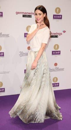 Sie vertrat Deutschland schon am Song Contest - und gewann: Lena Meyer-Landrut. (Bild: Keystone)