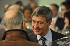 Willi Haag tritt nach 16 Jahren aus der St.Galler Regierung zurück. (Bild: Hanspeter Schiess)