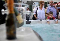 Die Weinfelder Herbstmesse lockte auch am Wochenende viel Publikum an. (Bild: Reto Martin)