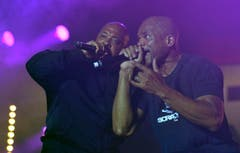 Rap im Duopack: Run DMC. (Bild: Reto Martin)