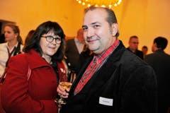 Thomas Goetz mit Lebenspartnerin. (Bild: Donato Caspari)