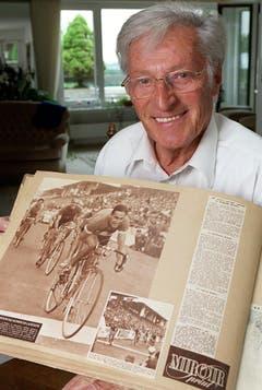 Ferdy Kübler in einem Porträt 1999. (Bild: Keystone)