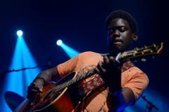 Der britische Musiker Michael Kiwanuka. (Bild: MARTIAL TREZZINI (KEYSTONE))