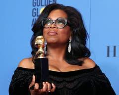 US-Moderatorin Oprah Winfrey hat in diesem Jahr den Cecil B. DeMille Award fürs Lebenswerk erhalten. (Bild: Keystone)