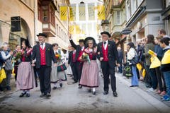 St. Gallen - Umzug Olma Olmaumzug durch die Stadt (Bild: Ralph Ribi)