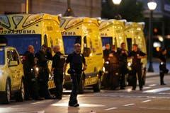 SPAIN BARCELONA PEDESTRIANS HIT (Bild: Keystone/AP Photo/Manu Fernandez)