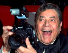 Ebendort macht er Faxen mit der Kamera. (Bild: Keystone)