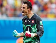 Geschafft! Die Schweiz steht im Achtelfinal. (Bild: Keystone)